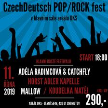 CzechDeutsch POP/ROCK fest/ADÉLA RADIMCOVÁ & CATCHFLY/HORST ADLER KAPELLE / MALLOW