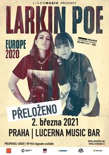 Skvělé Larkin Poe budou opět koncertovat v Praze