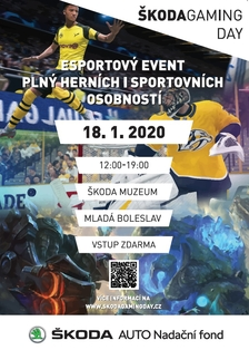 ŠKODA Gaming day Mladá Boleslav