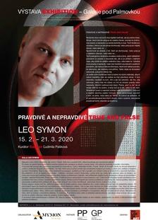 """Výstava """"Pravdivé a nepravdivé"""" - Leo Symon - Galerie pod Palmovkou"""