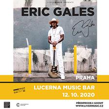 Brilantní Eric Gales se po letech vrací do pražského Lucerna Music Baru