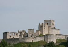 Lenka Filipová na hradě Rabí