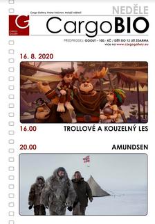 CargoBIO - kino na lodi 16.8.: Trollové a kouzelný les / Amundsen