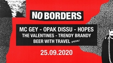 No Borders: MC Gey, Opak Dissu, Hopes a další | Rock Café