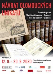 NÁVRAT OLOMOUCKÝCH UNIKÁTŮ - Vlastivědné muzeum v Olomouci, Mánesova galerie