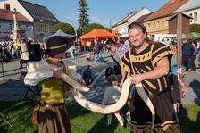 Václavský historický jarmark v Olešnici na Moravě