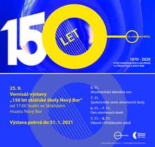 150 let sklářské školy Nový Bor