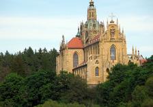 Svatohubertská mše v klášteře Kladruby