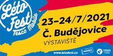 Létofest 2021 - Výstaviště České Budějovice