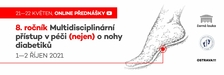 Multidisciplinární přístup v péči (nejen) o nohy diabetiků 2021 - Výstaviště Ostrava Černá Louka