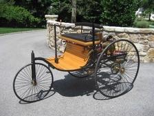 Replika prvního vozu na světě - Technické muzeum v Brně