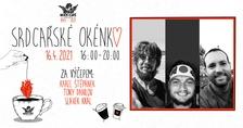 Srdcařské okénko s cestovateli Tonym, Slávkem a Karlem v Rock Café