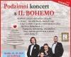 Podzimní koncert s IL BOHEMO...
