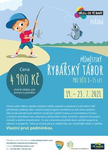 Příměstský rybářský tábor pro děti 8-15 let