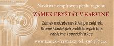 Pozvánka k online návštěvě jedné ze tří zámeckých stálých expozic zámku Frynštát v Karviné. České umění 19. století ze sbírek Národní galerie v Praze
