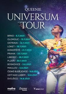 Queenie Universum Tour v Korunní pevnůstce Olomouc