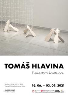 Elementární konstelace Tomáše Hlaviny v Galerii Kaple