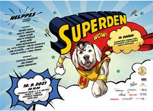 Slavnostní promoce psích superhrdinů