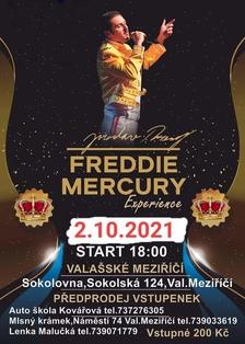 Hudební koncert Freddie Mercury Experience - Jaroslav Breský