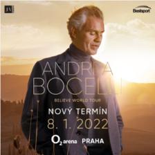 Andrea Bocelli v O2 areně