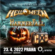 Helloween + Hammerfall v O2 areně