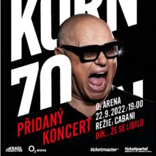 Jiří Korn 70 v O2 areně