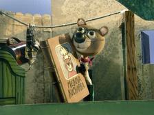 Medvídek Ťupínek - Říše loutek