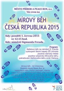 Mírový běh Česká republika 2015