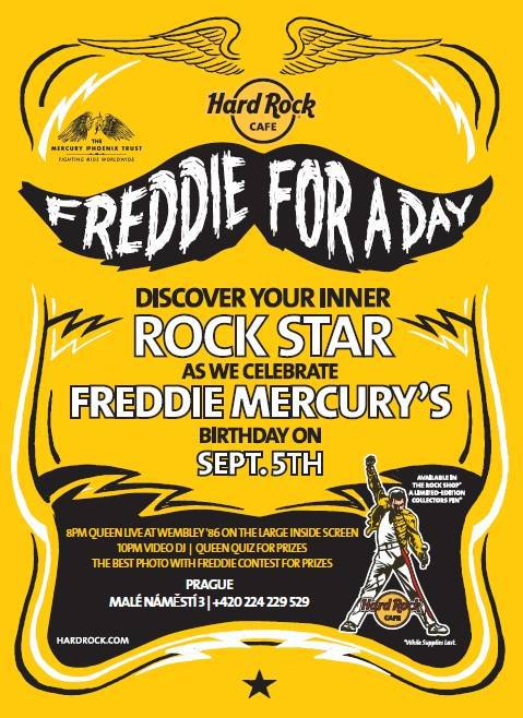Freddie For A Day Hard Rock Cafe