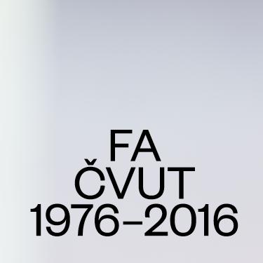 Fakulta architektury ČVUT slaví čtyřicetiny výstavou v Galerii Jaroslava  Fragnera 170bbe8d2f